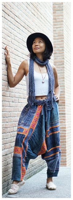 baggy pants, boho festival pants, patchwork pants, Hmong pants, harem pants, hemp pants, harem pants women, hemp pants, Hmong clothes