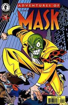 Bruce Timm, Best Comic Books, Comic Books Art, Comic Art, Darkhorse Comics, The Mask Cartoon, Cartoon Art, Comic Book Characters, Comic Character