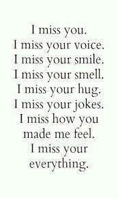 I miss you so much and we are not even together