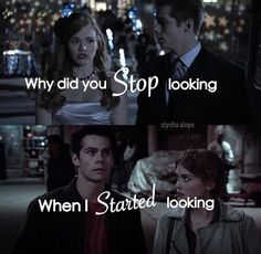 teen wolf, stydia, and lydia Bild