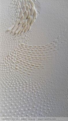 «Quasimodo Remixed» Series - n13 detail | domitilla biondi paper carving…
