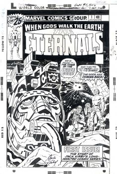 Simply the best comic series ever. Eternals #1 by Jack Kirby