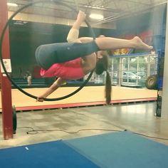 Playtime today #aerialist  #aerialistsofig #aerialhoop #circus #cirque…