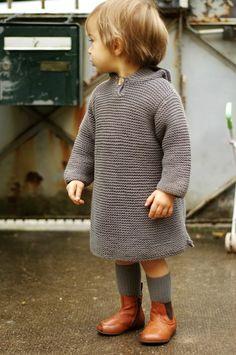 Madame Chacha // Bonpoint burnou & socks ; Pèpè boots