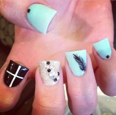 The feather one and the cross one :)