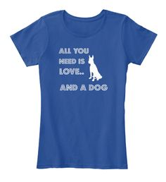 """Need A Dog Tee100% Printed in the U.S.A - Ship WorldwideCHOOSE Tank Top OR TEE for Women """"ADDITIONAL STYLES & Color"""" BELOW Click BUY IT NOW to choose your size & Color.TIP: SHARE it with your friends, order together and save on shipping. Guaranteed safe and secure checkout via:Paypal 