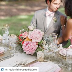 """OFD Consulting on Instagram: """"Love the @100candles shout out. Thanks @colonialhouseofflowers  #weddingpr #bridalpr #Repost @colonialhouseofflowers ・・・ Things change. But flowers and candles on the table with @kelleycannonevents is alwaysss a good choice! @sweetteaphotography @paprikasouthern @katemcdonaldbridal @touttalent @juliehacalligraphy #beautifulblooms @100candles"""""""