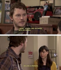 "So beautiful... | 26 Reasons You Should Wish Your Best Friend Was Andy Dwyer From ""Parks And Recreation"""