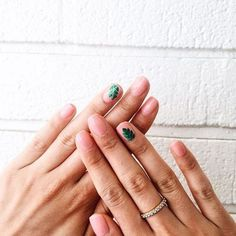 Let's be fronds! #oliveyourmani @juliasubbiondo