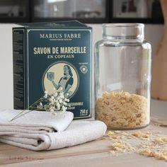Copeaux de savon de Marseilles Marius fabre (Copeaux de savon de Marseilles Marius fabre)