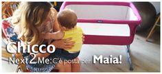 #Recensione della #culla #Chicco Next2me.  La nostra Zia di Nidodigrazia ha testato la culla con Maia! Ve la presentiamo qui: http://ndgz.it/prova-culla-chicco-next2me #arrivalazia