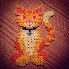 Cat hama mini beads by shadowphoenix18 | CATS | Pinterest
