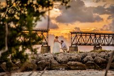 Romantic wedding at Bahia Honda State Park
