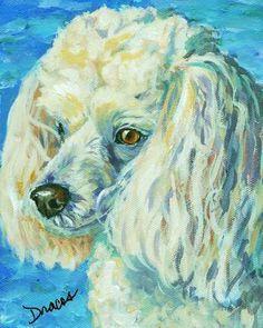 Image result for poodle fine art
