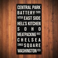 PERSONALIZED Subway Sign. Bus Scroll. by FlyingJunction on Etsy