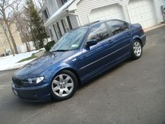 2003 325i Sedan - Mystic Blue Metallic - The car with which my BMW love story began...