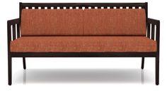 Ticotti Wooden Sofa Two Seater