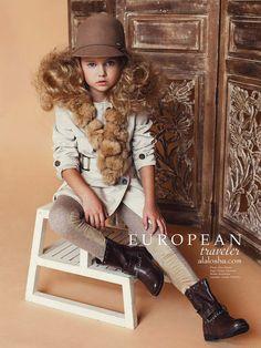 ALALOSHA: VOGUE ENFANTS: Child Model of the Day: Anastasia