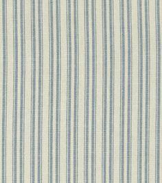 Home Decor Fabrics-Waverly Ticking Chambray Fabric & home decor fabric at Joann.com