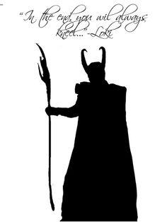 Loki Poster Tom Hiddleston Quote from the Avengers Thor Loki Art Thor the Dark World Poster on Etsy, $8.00