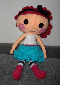 lalaloopsy crocheted doll