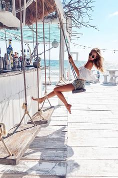Swinging in Tulum. Places To Travel, Travel Destinations, Places To Go, Surf, Shooting Photo, Photos Voyages, Travel Goals, Travel Style, Girl Travel