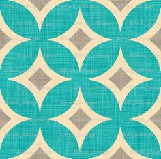 diamond_circles_aqua fabric by holli_zollinger for sale on Spoonflower - custom fabric