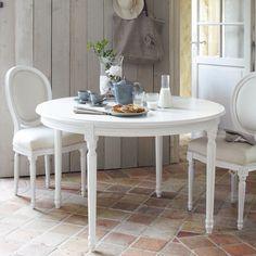 Table à dîner blanche LOUIS
