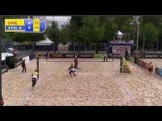 Beachvolleyball-Fijalek/Prudel x Kadziola/Szalankiewicz-European Championship Final BielBienne 2016 - YouTube
