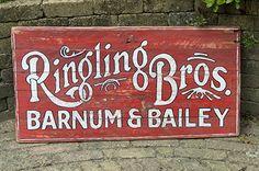 Helaas bestaat Ringling niet meer sinds 2017. Dit is een logo zoals vroeger wel op hun wagens gebruikt werd. Handgemaakt door RAWdecorations.com