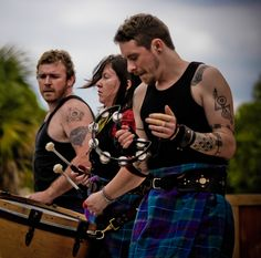 Albannach... awesome band. WOW!   I have always loved this type of Celtic inspired music, and a while back I found out I have ancestors from Scotland!