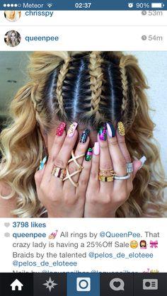 braids Pinterest: Knockii