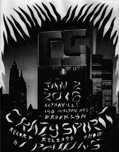Crazy Spirit record release show Jan 2nd!