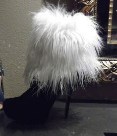 Sock that turns your shoe or boot into faux fur!! Rocks!!