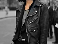 The classic leather jacket.