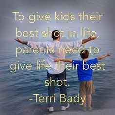 """To give #kids their best shot in #life #parents need to give life their best shot. -Listening to Terri Brady's """"Raising Hungry Kids"""" on #LifeStream #parenting #lovelifeleadership #intentionalliving"""