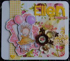 Ellen 1 år Pyssellotta.blogspot.com