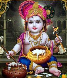 GOD HD WALLPAPERS: Baby Krishna HD Wallpaper