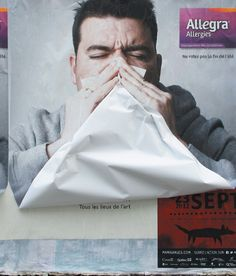 Allegra allergy advertising  |  AdGang