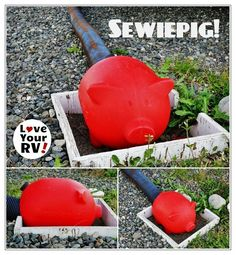 Sewiepig from RV Tips and Tricks in the Love Your RV! blog - http://www.loveyourrv.com/the-sewiepig-rv-gadget-is-sure-to-get-a-smile/ #RVing