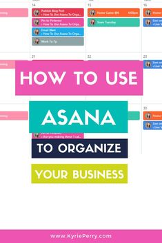 Organizing your business is about to get a whole lot easier. Let me introduce you to Asana. Asana is a great tool for business owners needing help with project management. Whether your a beginner or a Iyengar Yoga, Ashtanga Yoga, Asana Project Management, Time Management Tips, Business Management, Project Management Templates, Yoga Girls, Partner Yoga, Business Tips