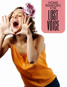 The condition of Lost Voice is a throat problem that is mostly caused by inflammation of voice box. Basically, when you speak, air is push...
