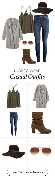 """Casual"" by nikke9doors on Polyvore featuring H&M, Vince Camuto, Toast and Eloquii"