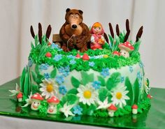 masha and the bear cakes - Google Search