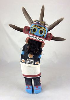 Territorial Indian Arts  The first carved Kachina we got by Tyson Ross, oldest son of Fred Ross is this Sand Snake