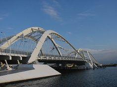 Amsterdam IJburg, bridge