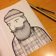 lumberjack drawing - Google Search