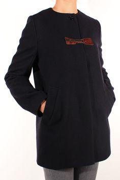 Sessun Azumi Coat Navy
