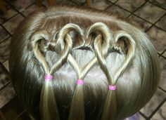 valentine day gift idea for teenage girls | Cute Yet Amazing Valentine's Day Hairstyles & Ideas For Girls & Kids ...