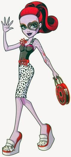 All about Monster High: Characters opereta dance class